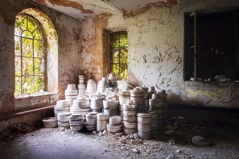 陶器贮藏的房间