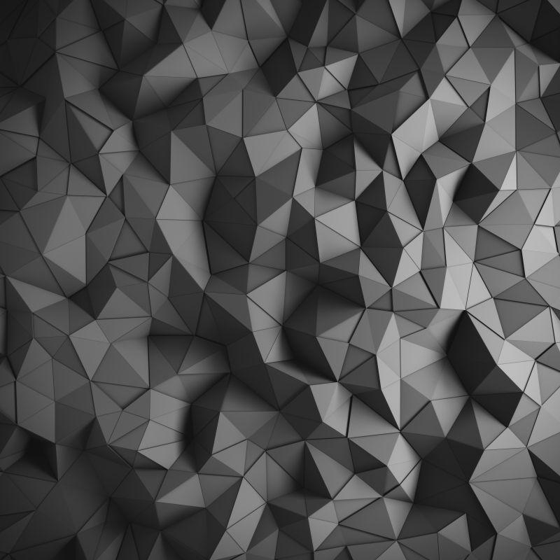 3d立体三角形状背景