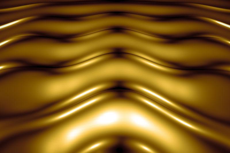 金色背景液态黄金
