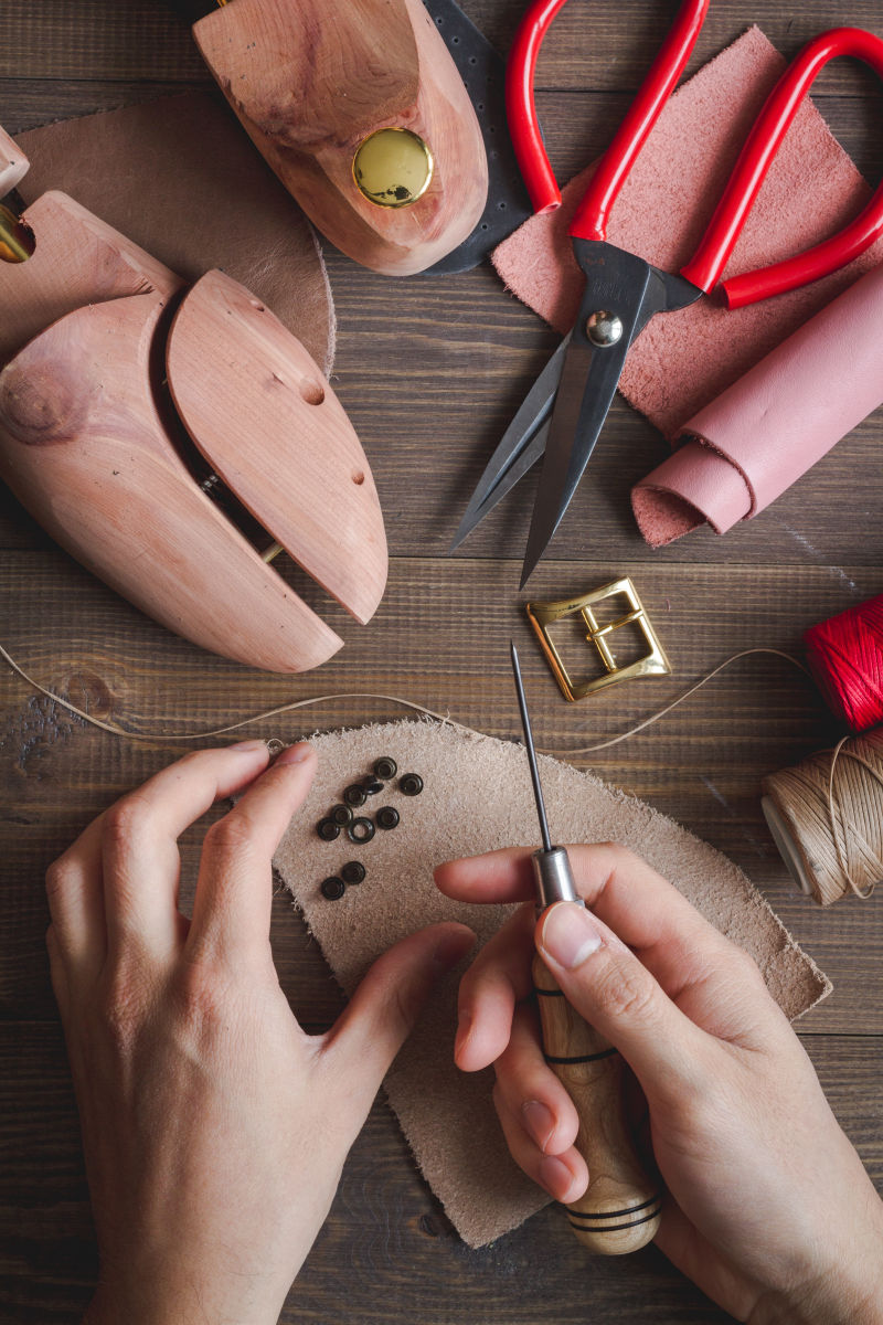 手工制作鞋子的工具