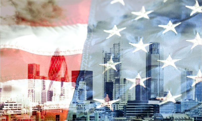 美国国旗下的城市