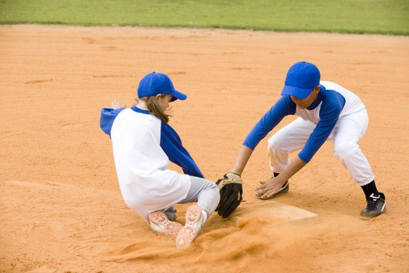 棒球中被淘汰的女孩