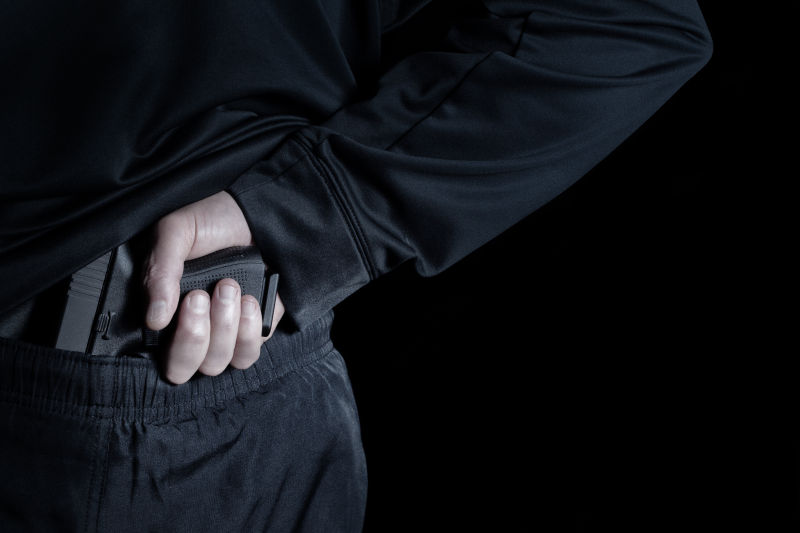 黑客拔枪的姿势