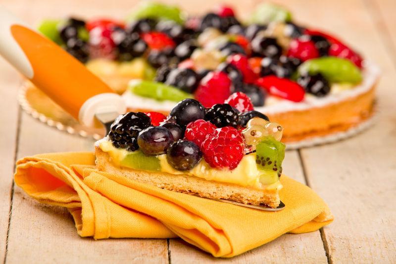 美味的水果馅饼