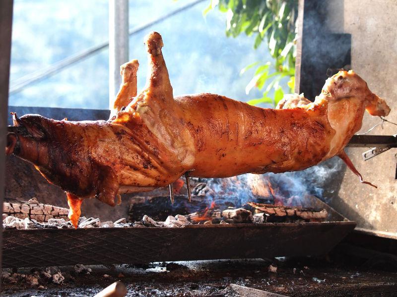 烧烤全猪肉