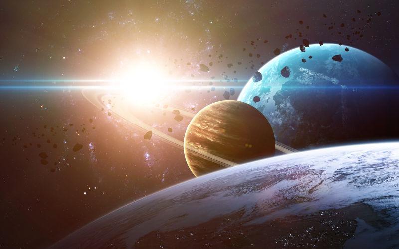 银河系中的行星
