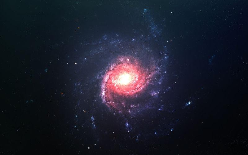 银河的星云