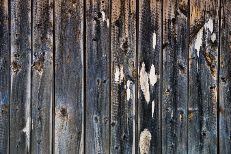 破旧古老的木质板