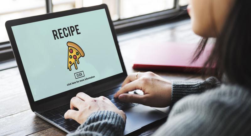 笔记本电脑上出现比萨图标