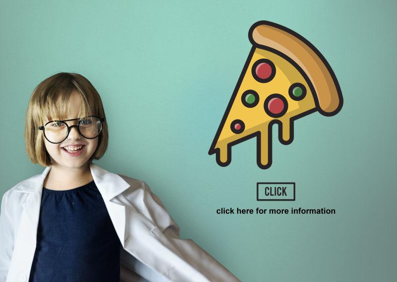 不健康食物披萨