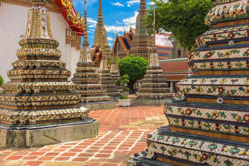 泰国曼谷的笏佛寺
