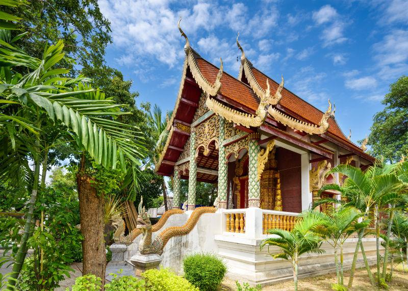 泰国小庙建筑