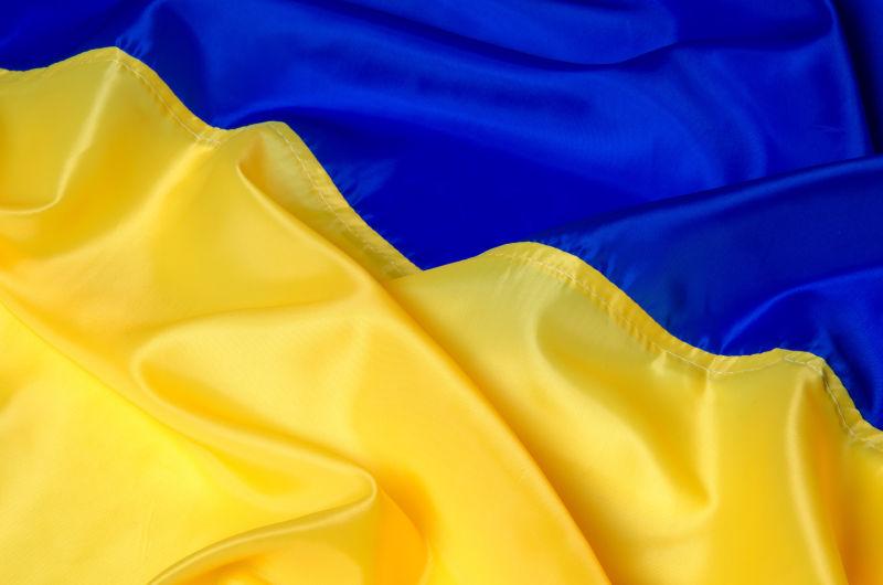 乌克兰的国旗背景