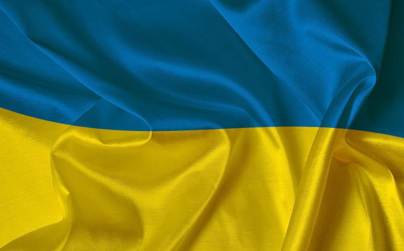 乌克兰国旗背景