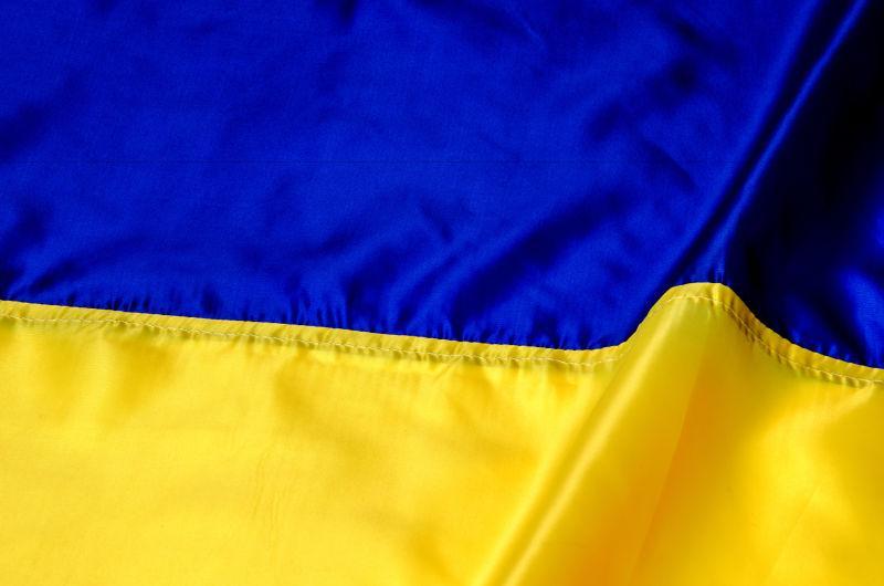 丝绸乌克兰国旗