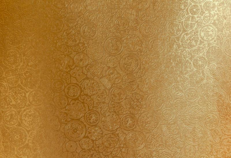 发亮的中国花纹纸