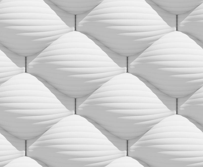 白色波浪形的抽象背景
