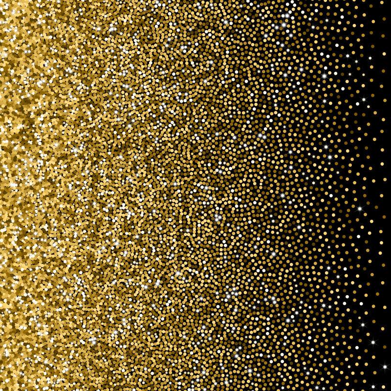 金色颗粒背景矢量设计