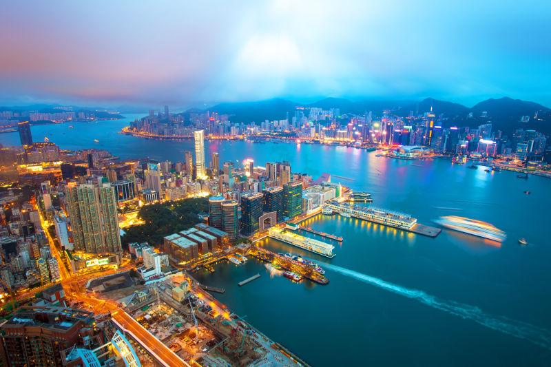 香港的维多利亚港