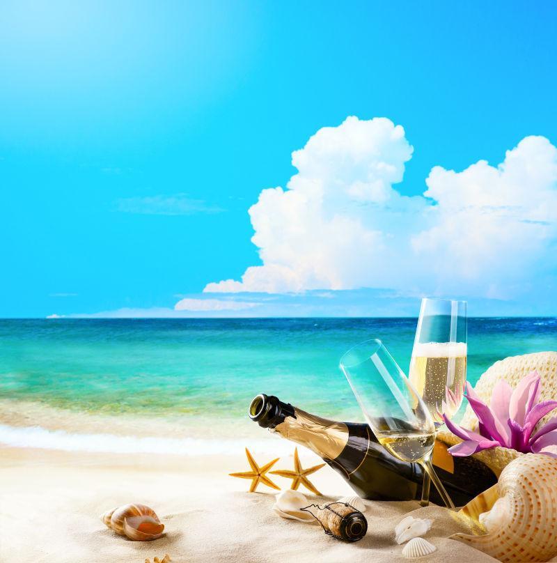 艺术浪漫海滩