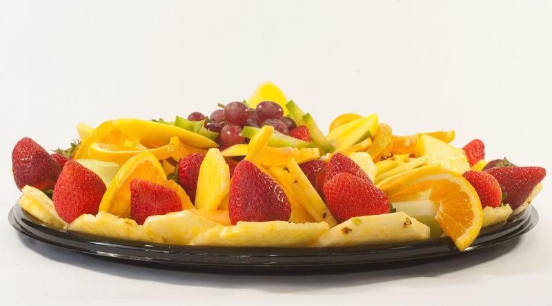 新鲜的水果拼盘