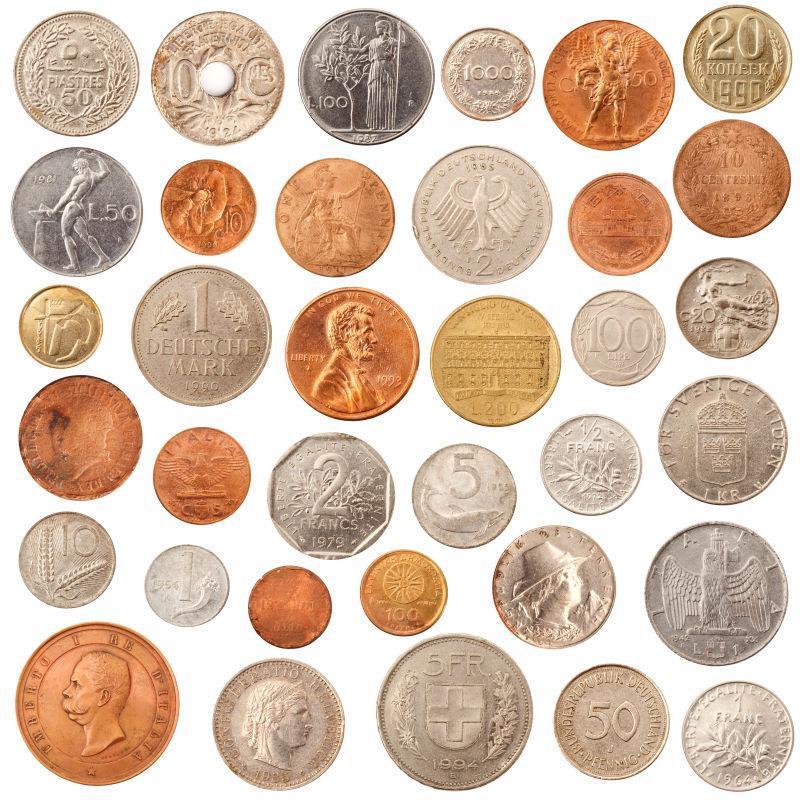 货币拼贴集
