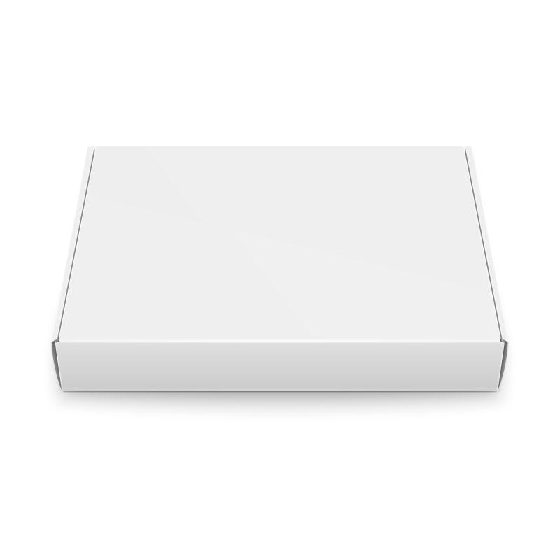 矢量的白色纸箱