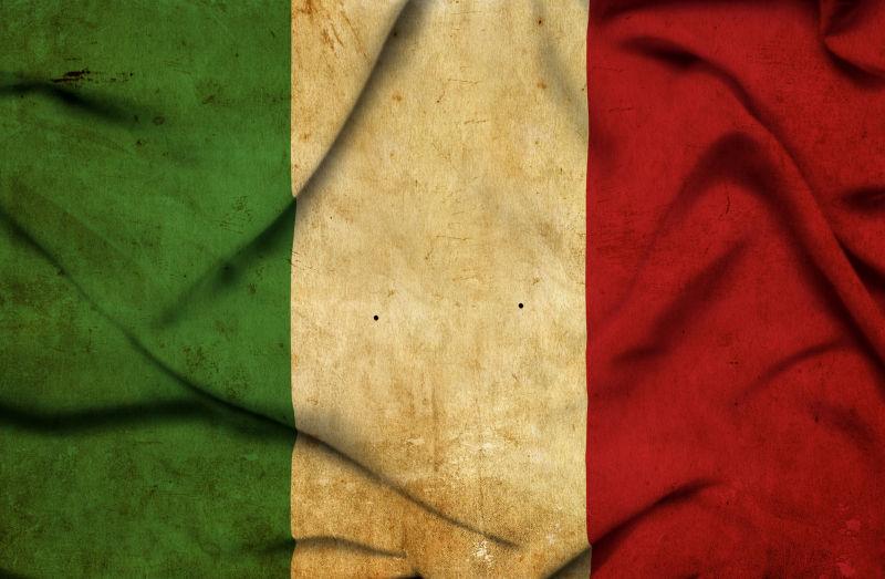 意大利飘扬旗