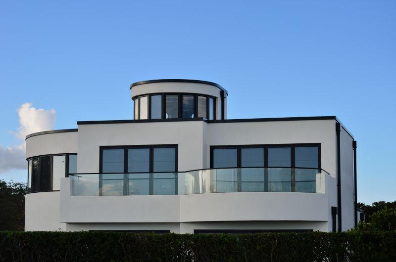 白色元素别墅
