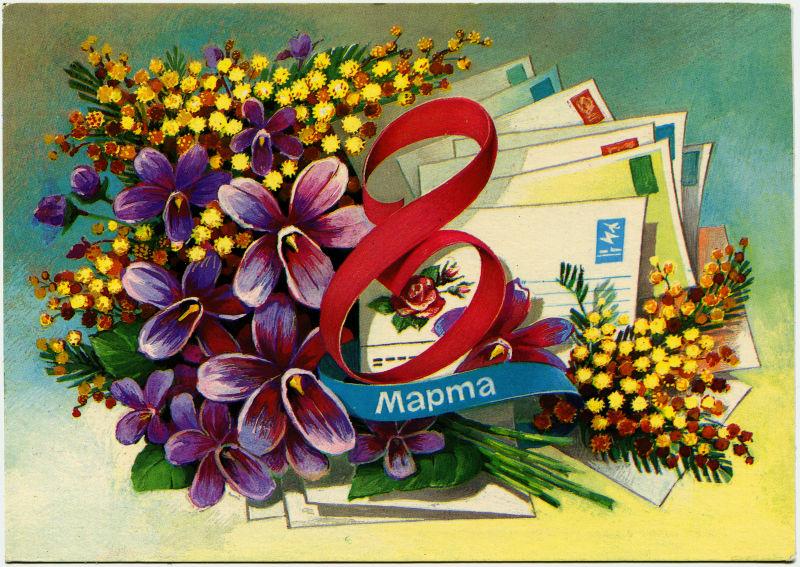 明信片母亲节节日