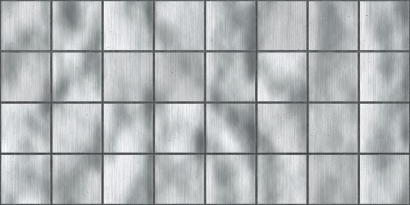 银质无缝金属瓦片