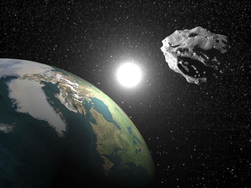 近地小行星-三维渲染