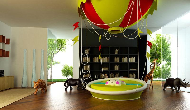 儿童房里的装修设计