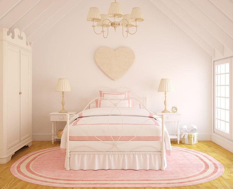 暖色系的卧室装修