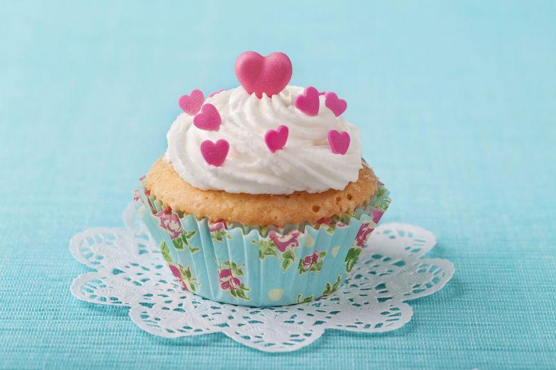 粉色杏仁蛋糕