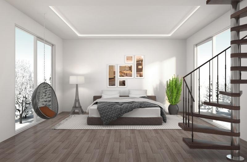 现代风格的简约公寓