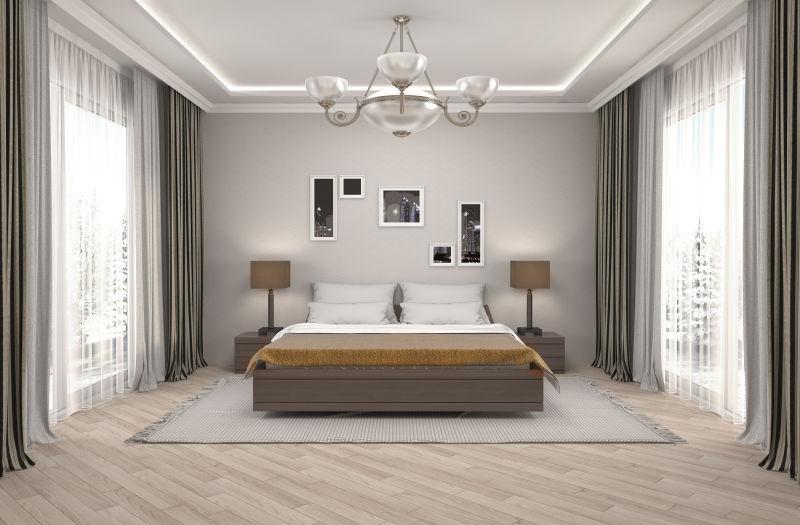 现代风格装修内室