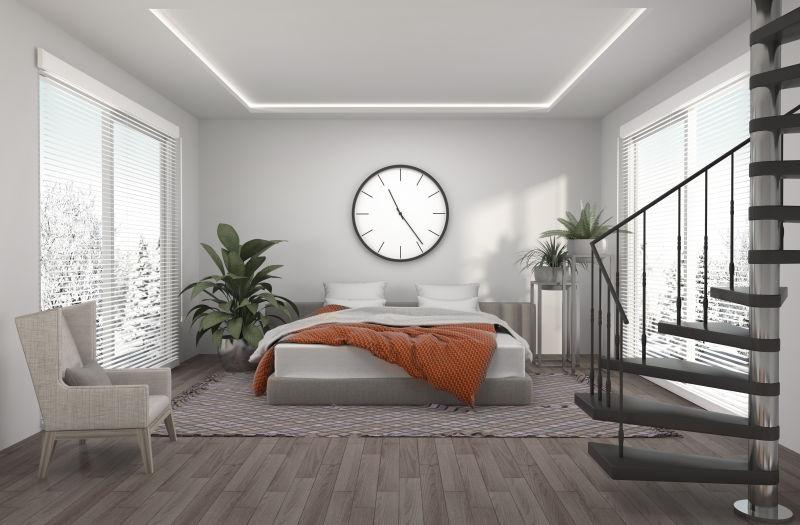 现代风格的公寓设计