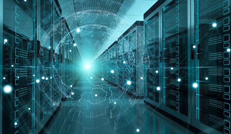 全球网络的数据服务器