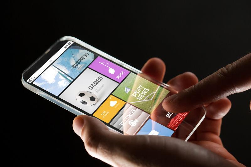 透明的智能手机技术