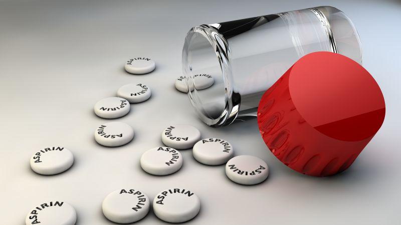 阿司匹林药片