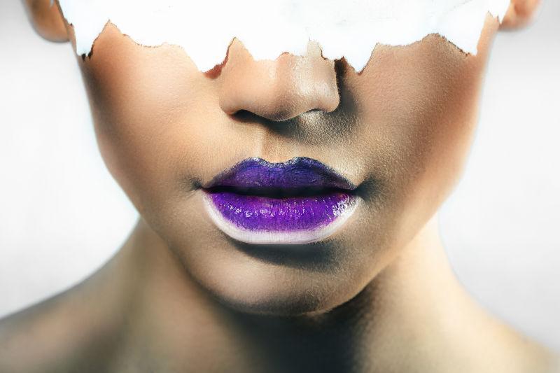 美女的嘴唇