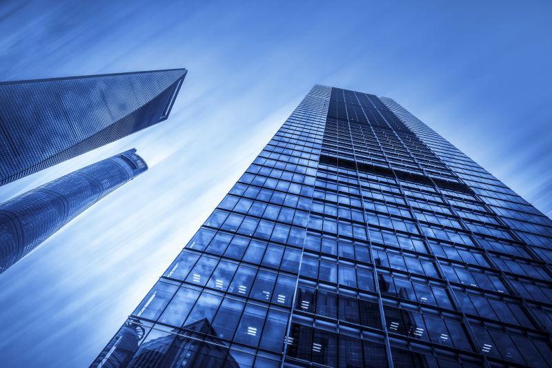 现代城市建筑大楼