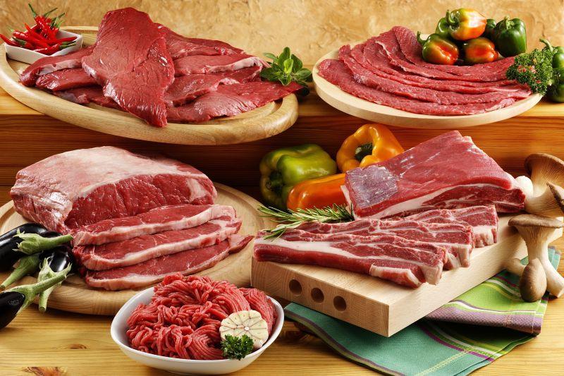 什锦生牛肉