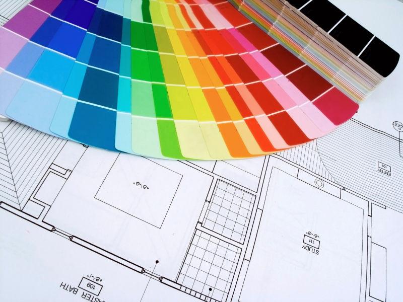 房屋设计计划与色彩