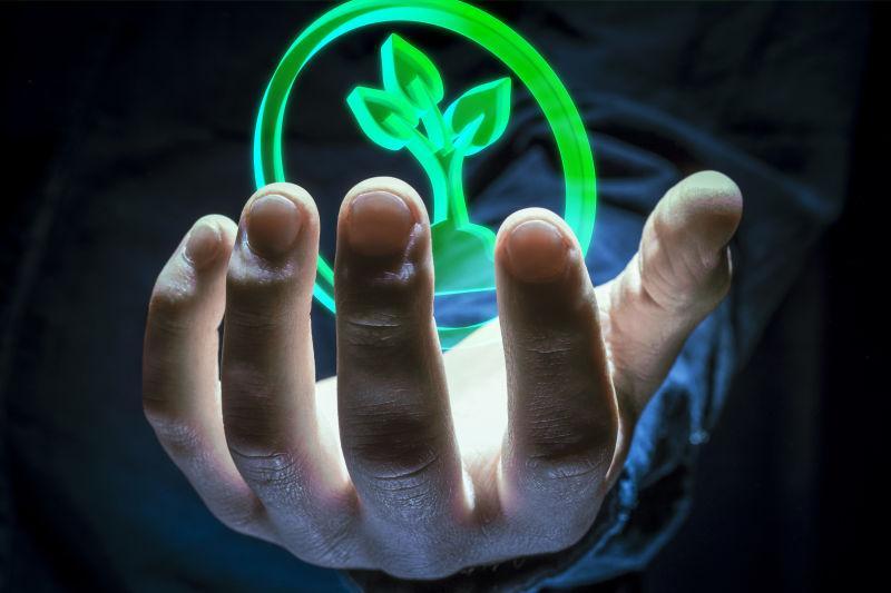 环境标志在你的手