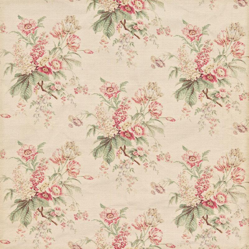 旧花朵纹理背景
