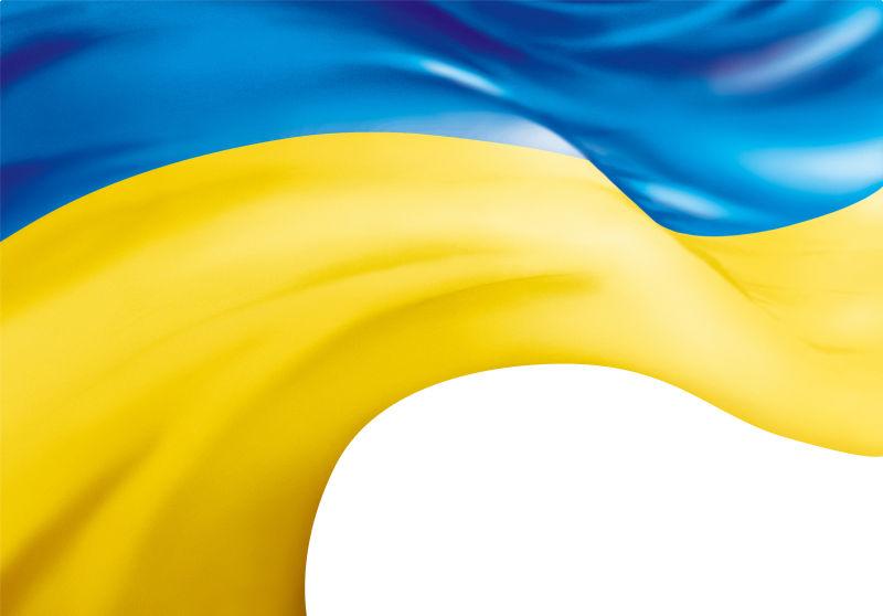飞舞的乌克兰国旗