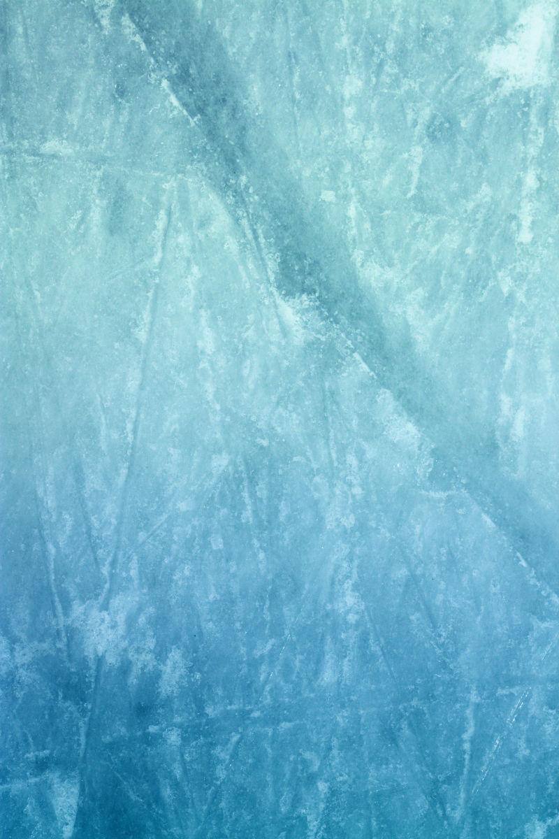 溜冰场的冰霜