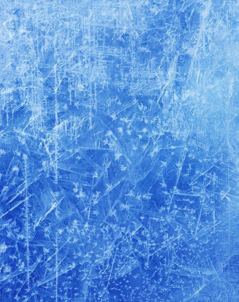 圣诞节冰雪纹理背景
